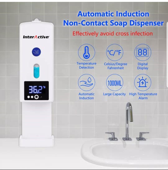FEVER & MASK DETECTION ThermoWall 2 in 1
